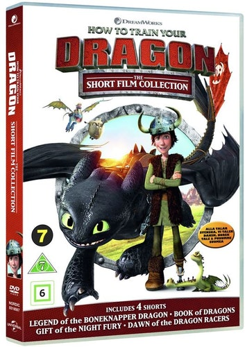 Draktränaren - Fyra kortfilmer DVD