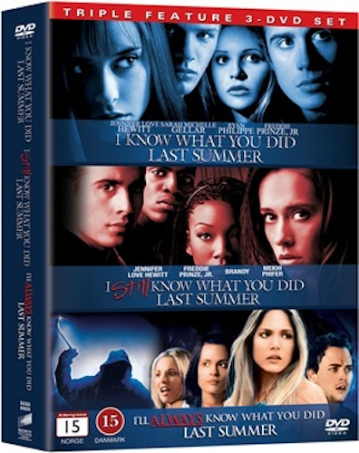 I Know What You Did Last Summer 1-3 (3-Disc) DVD