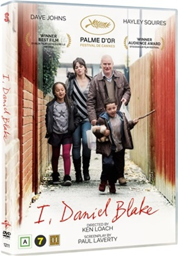 Jag, Daniel Blake DVD
