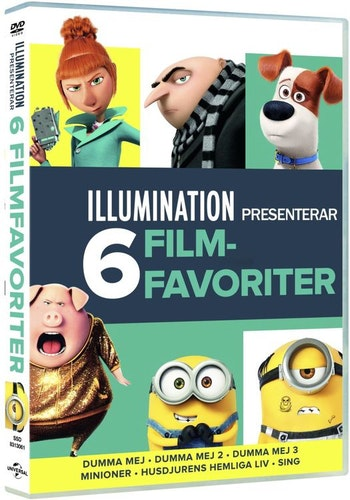 Illumination 6-movie collection DVD