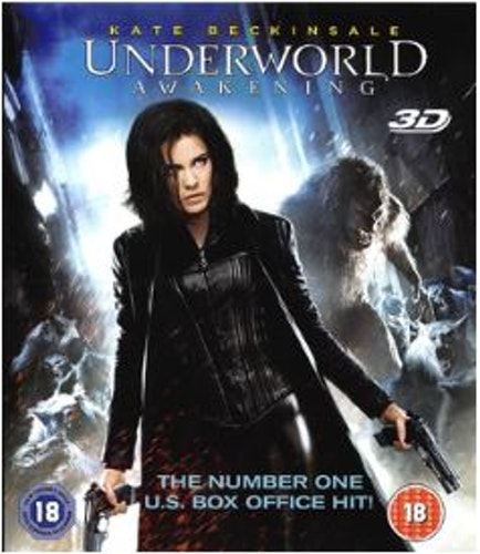 Underworld Awakening (Blu-ray 3D) import