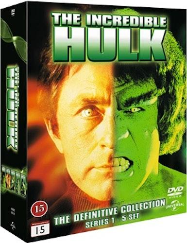 The Incredible Hulk - Säsong 1-5 DVD