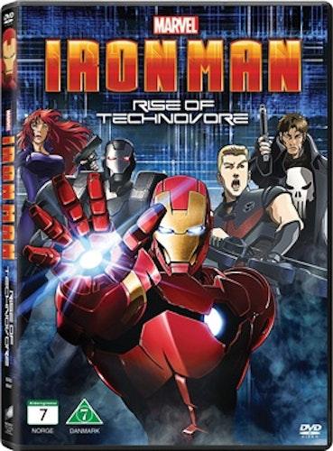 Iron Man: Rise of Technovore DVD