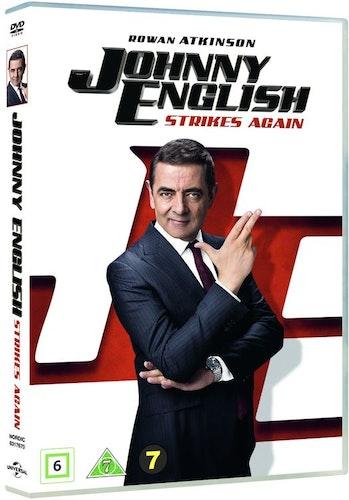 Johnny English 3 - Strikes Again DVD