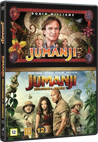 Jumanji (1995) & Jumanji: Welcome to the Jungle (2017) (2-disc) DVD
