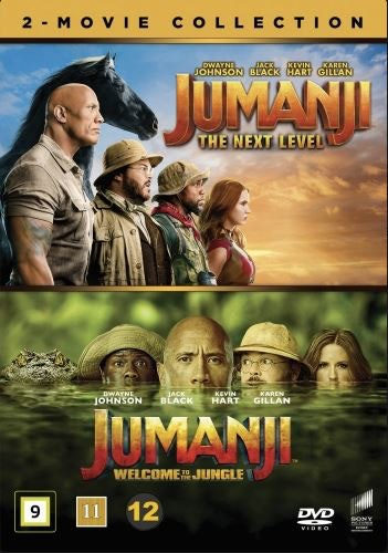 Jumanji 2-Movie Collection DVD