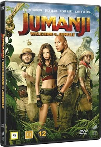 Jumanji: Welcome to the Jungle DVD