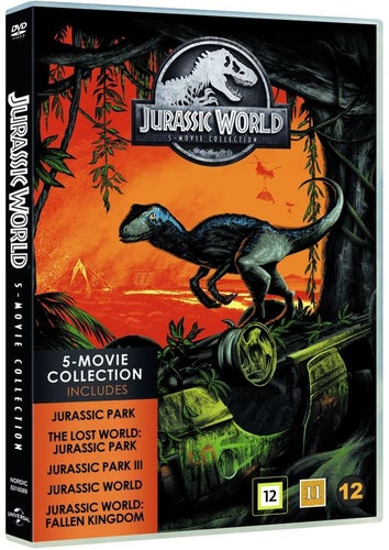 Jurassic Park 1-5 Box DVD