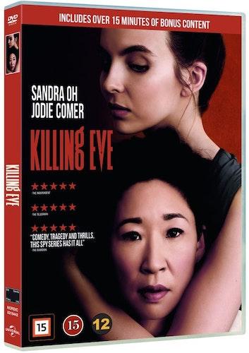 Killing Eve - Season 1 (2 disc) DVD