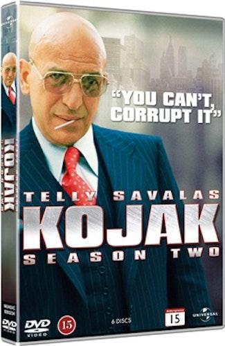 Kojak - Säsong 2 DVD