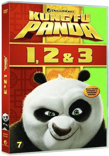 Kung Fu Panda 1-3 (3-disc) DVD