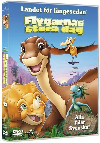 Landet för längesedan 12 flygarnas dag DVD