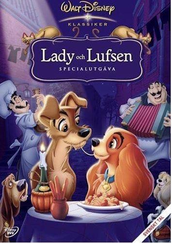 Disney Klassiker 15 - Lady och Lufsen (Blu-ray)