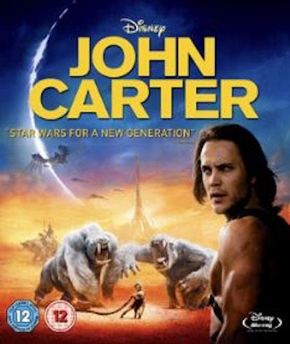John Carter (Blu-ray) (Import Sv.Text)