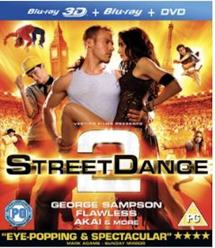 Street Dance 2 3D Blu-Ray (import)