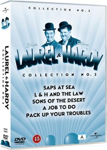 Helan & Halvan vol.3/LAUREL & HARDY VOL 11-15 DVD