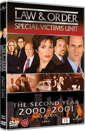 Law & Order: Special Victims Unit säsong 2 DVD