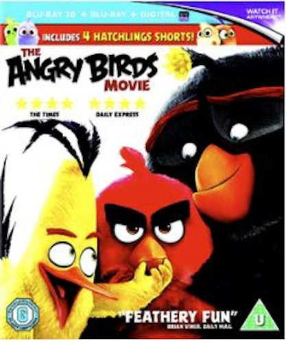 The Angry Birds Movie (3D) Bluray (import)