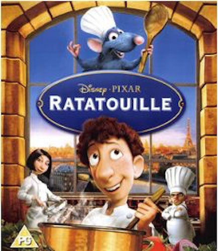 Råttatouille bluray (import)
