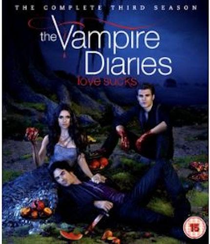 Vampire diaries - Säsong 3 (Blu-ray) (4-disc)