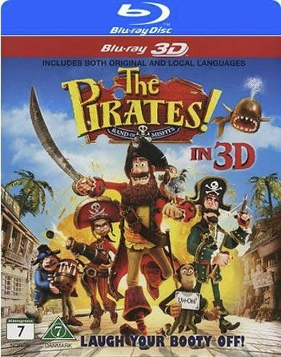 Piraterna! (Blu-ray 3D)