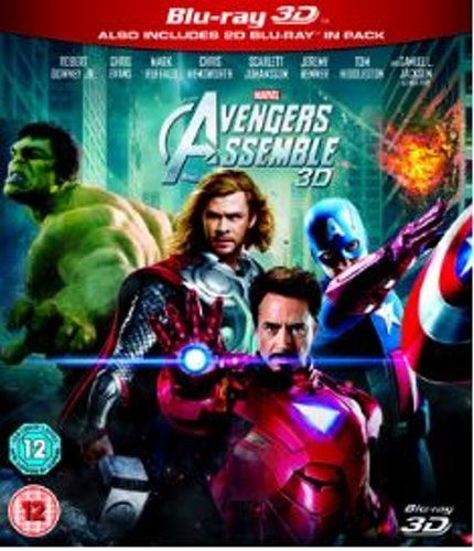 The Avengers (2012) (3D) bluray import