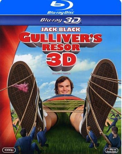 Gulliver's resor (Blu-ray 3D)