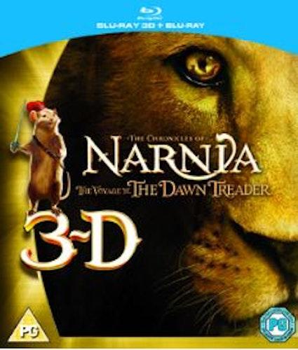 Narnia 3 - Caspian och Skeppet Gryningen (Blu-ray 3D) import