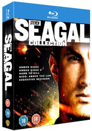 The Steven Seagal Collection bluray (import)