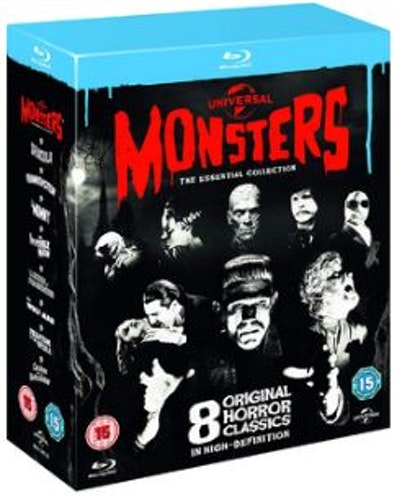 Universal Monsters - The Essential Movie Collection (8 Film) Blu-Ray (import med svensk text)