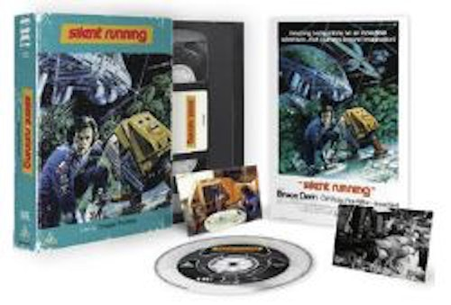 Silent Running - Limited Edition VHS Collection Blu-Ray Specialutgåva (import)