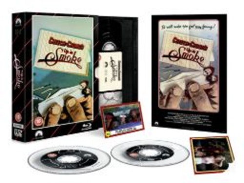 Cheech And Chong - Up In Smoke - Limited Edition VHS Collection DVD + Blu-Ray Specialutgåva (import)