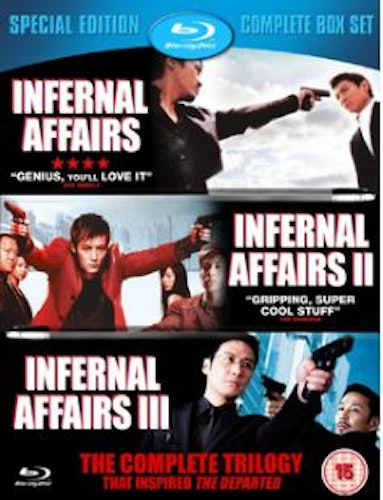 Infernal affairs - Trilogy (Blu-ray)(3-disc) (Import)