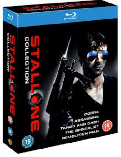 Sylvester Stallone: 5 Film Collection (Blu-ray) (Import Sv.Text)