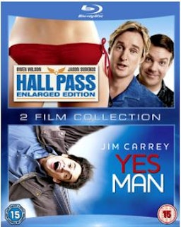Hall Pass+Yes Man Blu-Ray (import med svensk text)