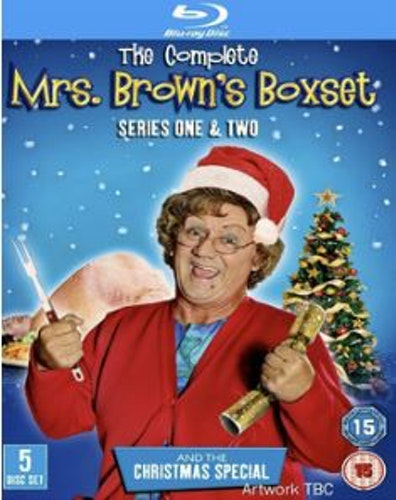 Mrs Browns Boys Series 1+2+Christmas Special Blu-Ray (import)