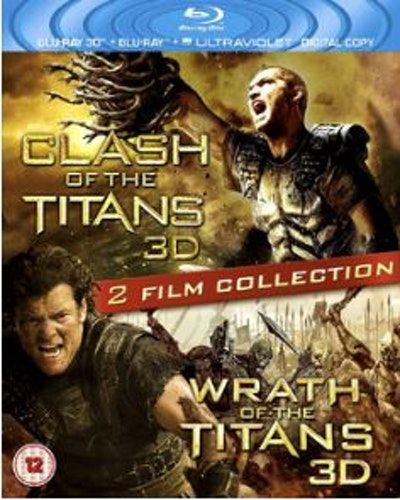 Wrath Of The Titans & Clash Of The Titans (Blu-ray 3D) (Import Sv.Text)