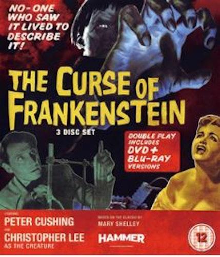 The Curse of Frankenstein (Blu-ray + DVD) (Import) från 1957
