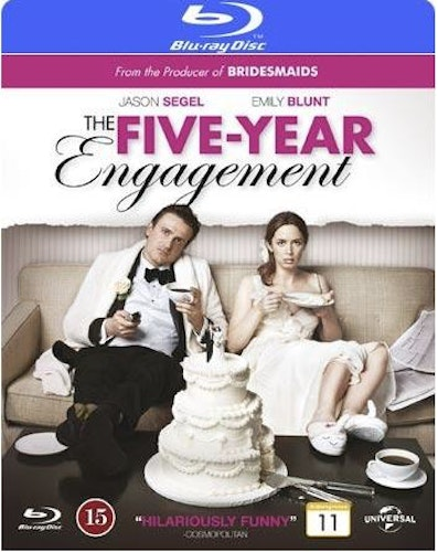 The Five-Year Engagement bluray