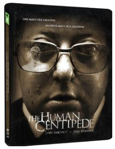 Human Centipede 1 & 2 Ltd Steelbook (Blu-Ray+DVD) (4-disc) (Import)