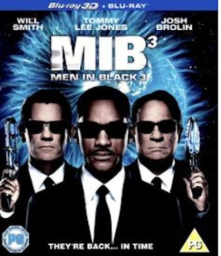 Men in Black 3 (Blu-ray 3D) import