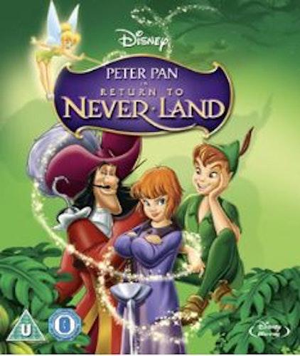 Peter Pan: Tillbaka Till Landet Ingenstans bluray (import)