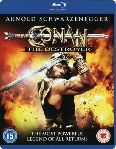 Conan - The Destroyer (Blu-ray) (Import)