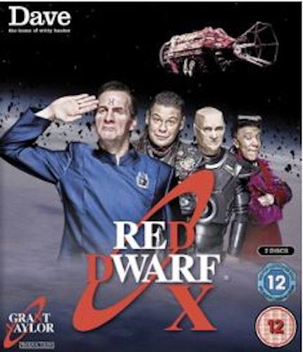 Red Dwarf Series 10 (Series X) Blu-Ray (import)