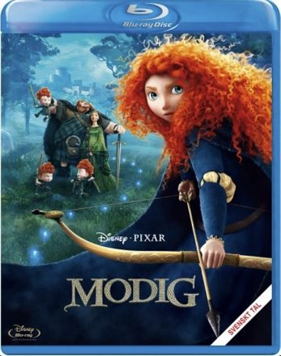 Disney Pixar Klassiker 13 - Modig (Blu-ray)