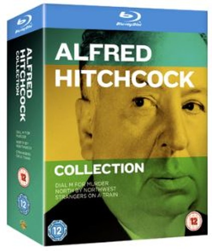 Alfred Hitchcock Collection Blu-ray (import med svensk text)