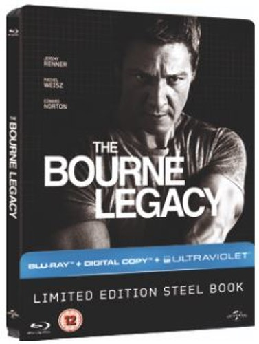 Bourne Legacy Steelbook Blu-Ray (import)