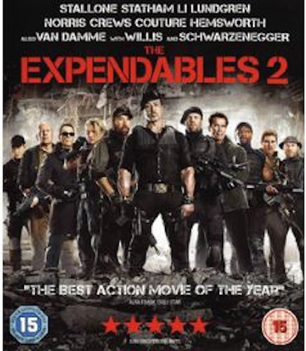 The Expendables 2 (Blu-ray) (Import)