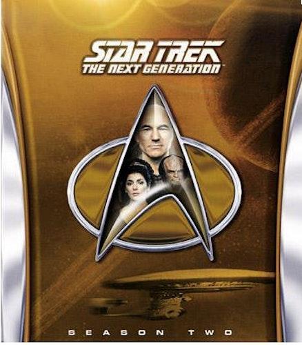 Star Trek: The Next Generation - Säsong 2 (Blu-ray) (6-disc)