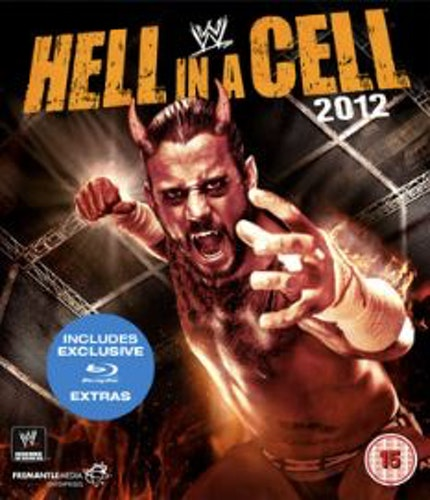 WWE: Hell in a Cell 2012 bluray (import)